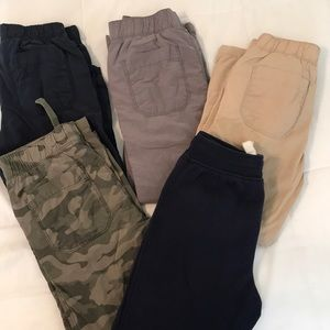 Lot of 5 pairs of boys pants